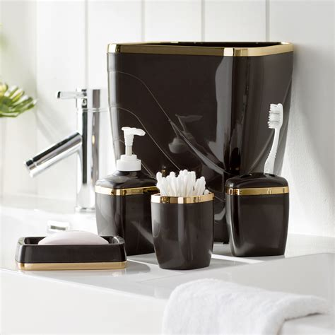 wayfair basics wayfair basics 5 piece bathroom accessory