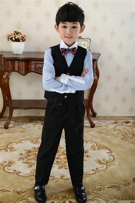buy wholesale cute winter flower boys suit clothes wedding