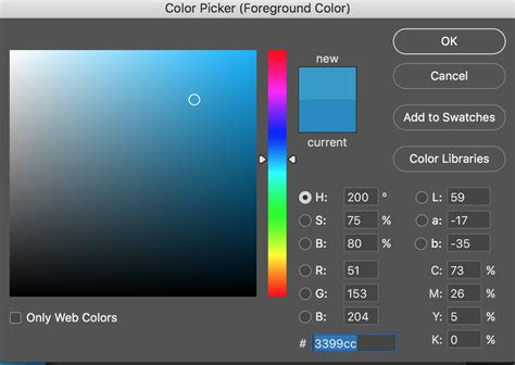 photoshop tips how to use the color picker tool