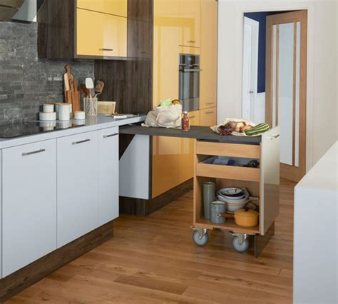 Kitchen Island Alternatives For When You're Short On Space