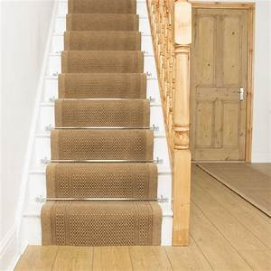 Beige stair runner aztec for Stair carpet