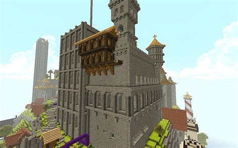 Fortified Town Minecraft Project