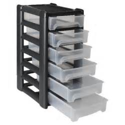 Plastic Storage Units with Drawers