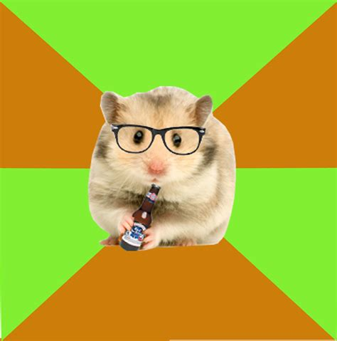 Hamster Memes - hipster hamster know your meme
