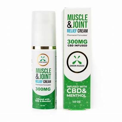 Cbd Cream Relief Muscle Joint Roads Pain