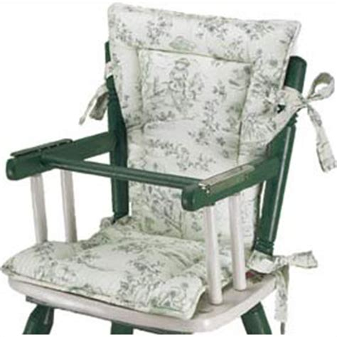 country style high chair cushions all things basic