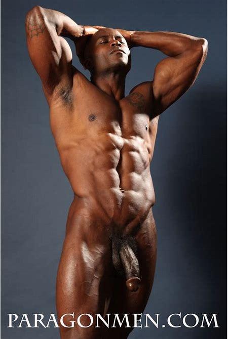 Black Naked Muscle Men image #23864