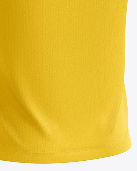 Mens heather cuffed sweatpants front view. Men's Soccer V-Neck Jersey mockup (Back Half Side View) in ...