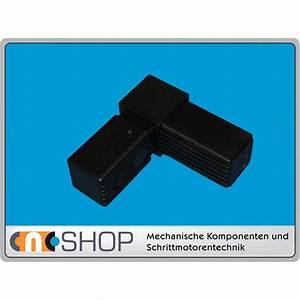 Rechter Winkel Mit Meterstab : steckverbinder rechter winkel f alu rohr 25x25x1 5 mm pa schwarz ~ Watch28wear.com Haus und Dekorationen