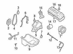 Ford Mustang Engine Crankshaft Pulley  3 8 Liter  3 9