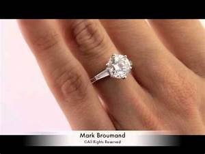 331ct round brilliant cut diamond engagement ring by van With van cleef wedding ring price