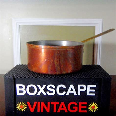 tagus copper cookware vintage copper pots pots  pans copper decor kitchen decor copper