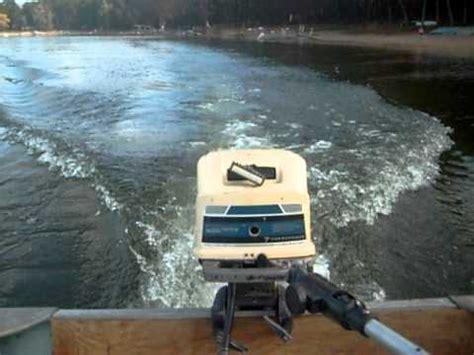 Montgomery Ward 7 5 Hp Boat Motor by Clinton Built 7hp Wards Seaking Running At The Lake