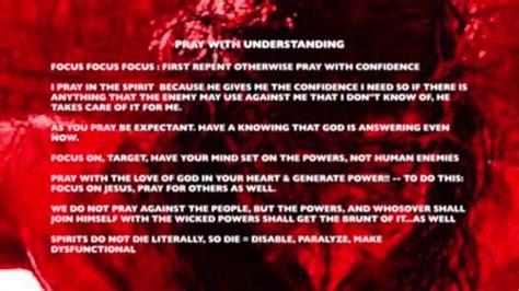 Prayer Cindy Trimm Declarations