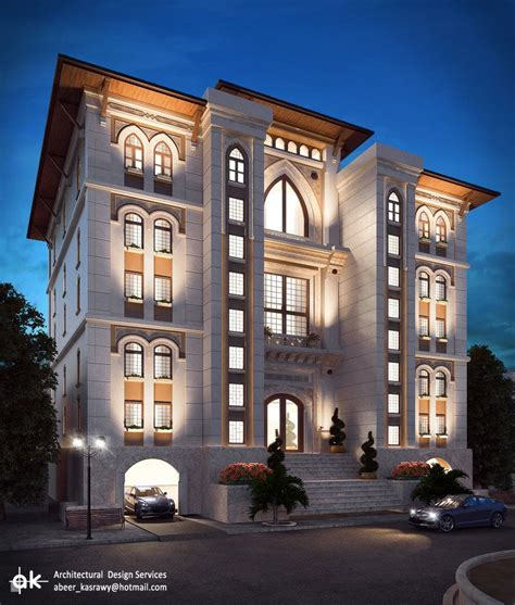 ksa boutique hotel final night exterior by kasrawy