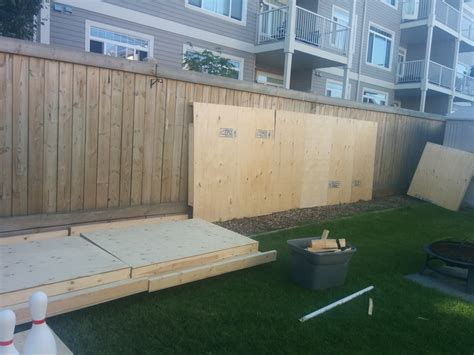 Backyard Bowling Set by How To Build Your Own Backyard Bowling Alley Simplemost