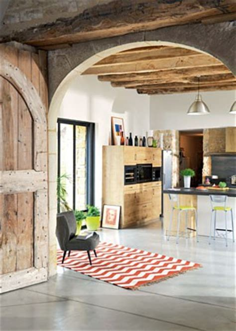 cuisine moderne dans l ancien 1 une cuisine moderne dans un cadre ancien maison travaux
