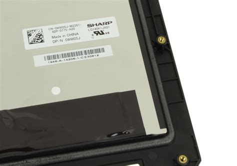 14″ Dell Latitude 14 Rugged Extreme 7404 Lcd Screen