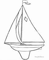 Sailboat Coloring Boat Printable Sail Template Boats Sheets Raisingourkids Toy Templates Patterns Printing sketch template