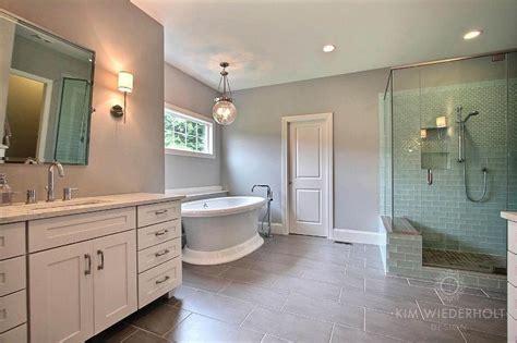 Transitional-bathroom-sherwin Williams Light French Gray