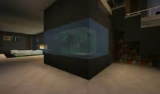 modern fish tank minecraft pinterest fish tanks