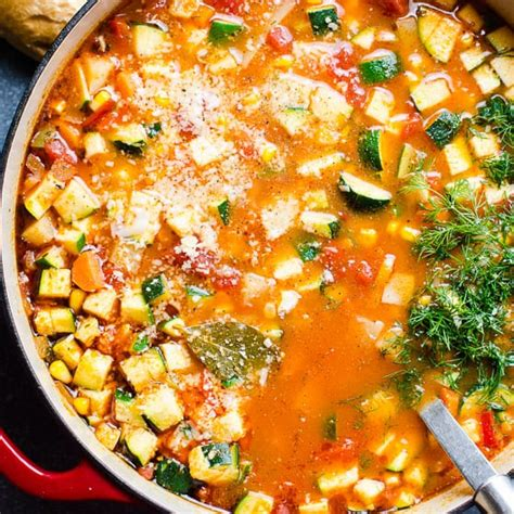 vegetable soup ifoodreal healthy family recipes