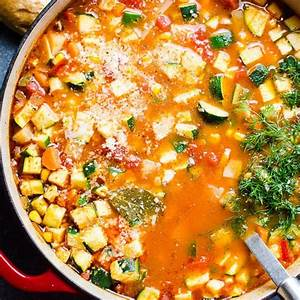 Vegetable Soup Recipe - iFOODreal - Healthy Family Recipes