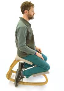 chairs for posture so you want the healthy back posture of a kneeling chair but are