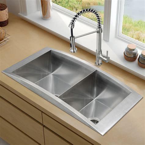 the kitchen sink nyc vigo platinum series topmount kitchen sink combo