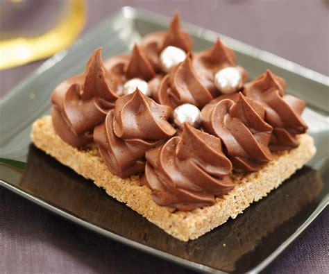 dessert g 226 teau croustillant aux deux chocolats