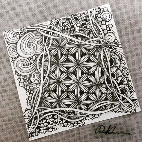 images  zentangles  pinterest zentangle