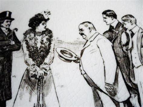 royal doulton art nouveau gibson girl  widow