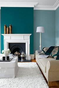 Tapis Salon Bleu Canard : bleu canard 10 inspirations pour adopter la tendance du moment ~ Melissatoandfro.com Idées de Décoration