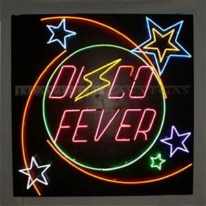 neon sign disco fever 72