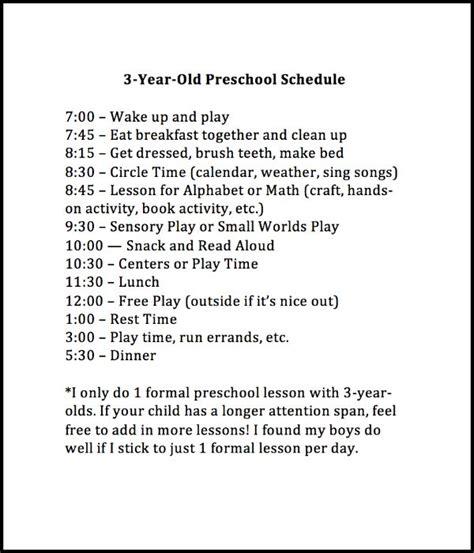 weekly preschool planner 131   3 year old