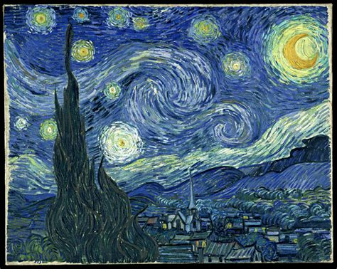 """The 6 Best Paintings With The Word """"night"""" In The Title"""