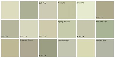 gray green paint designers favorite colors top row left