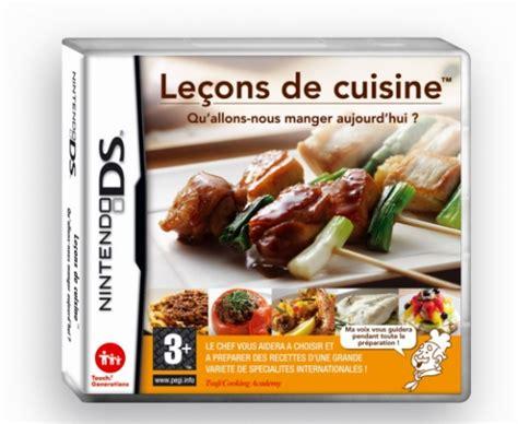la nintendo ds s offre de nouvelles couleurs et un jeu d 233 di 233 224 la cuisine cnet