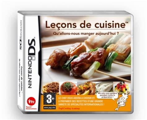 un jeu de cuisine la nintendo ds s 39 offre de nouvelles couleurs et un jeu