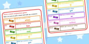 Conjunction Practice Pick A Sweet Game  Games, Card Games, Sen