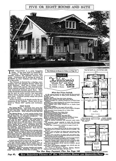 sears homes floor plans sears kit home plans floor plans