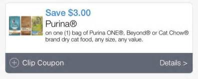 purina cat chow coupons weis free purina cat chow 3 31 fantastic friday deal