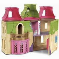 fisher price dream dollhouse Fisher-Price Loving Family Dream Dollhouse - Walmart.com