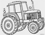 Deere Coloring John Pages Tractor Print Printable sketch template