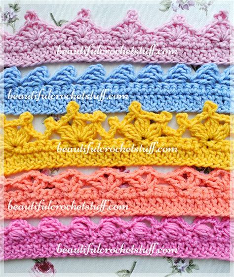 crochet edging patterns 25 best ideas about crochet edging patterns on pinterest
