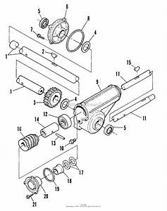 Snapper 10301 30 U0026quot  10 Hp Two Stage Large Frame Snow Thrower Series 1 Parts Diagram For Gearbox