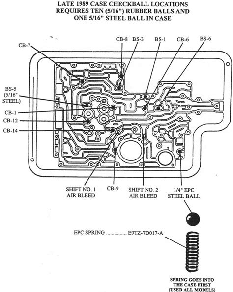 1989 Ford E40d Wiring Diagram by Ford C4 Transmission Parts Diagram Wiring Diagram Fuse Box