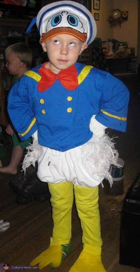 homemade donald duck costume photo