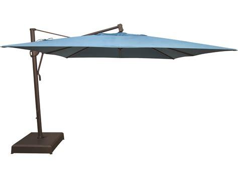 Garden Treasures Patio Umbrella Replacement by Treasure Garden Cantilever Aluminum 11 5 Foot Wide