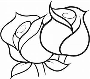 How to draw how to draw roses for kids - Hellokids.com